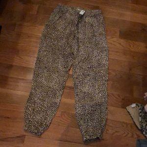 Softest rayon Leopard pants